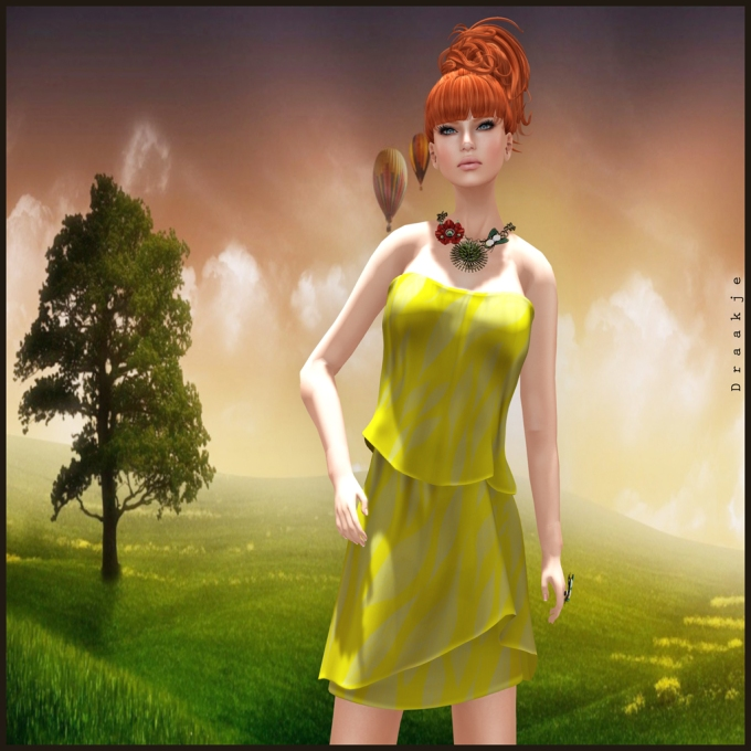 (Kunglers) Tufi dress - Sunflower